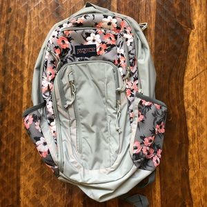 Flower JanSport backpack